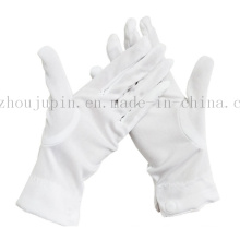 OEM Nylon Doorman Driver Magician White Etiquette Button Gloves